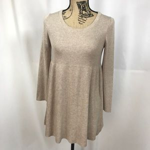 Knitted & Knotted Silk Blend Riley Tunic Small